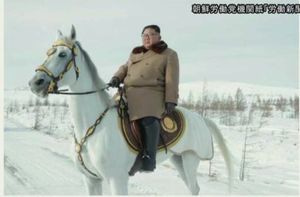 金正恩と白馬 2題その1【馬の身になれば…】   如月隼人のブログ