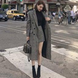 画像 もう悩まないスカートとコートの丈感について の記事より 4つ目