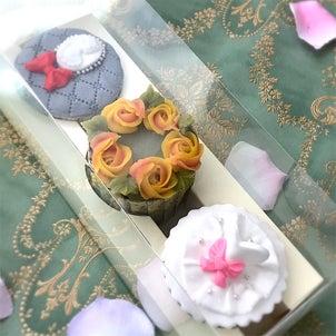 幸せな時間。♡ウェディングカップケーキ♡の画像