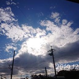 画像 【昨日の空】今日はお休み でもあっという間だな* の記事より