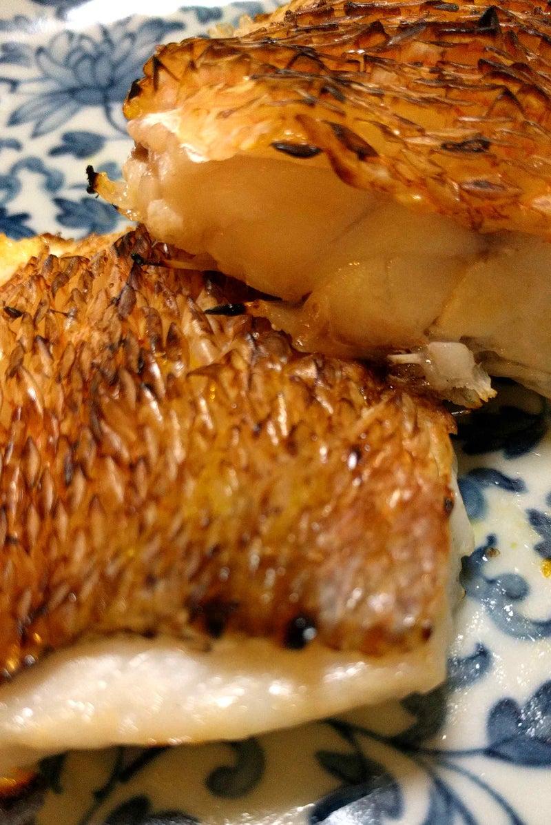塩焼き 甘鯛 甘鯛、ちり蒸し、塩焼き