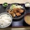ザ・トラック・イン(栃木県大田原市) 唐揚げと焼肉の合盛り定食