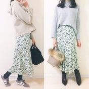 【UNIQLO】我慢できずイロチ買いした新作スカート♪