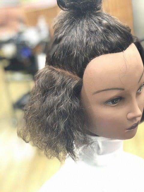 無重力 実験2 縮毛矯正& i-curlの記事より