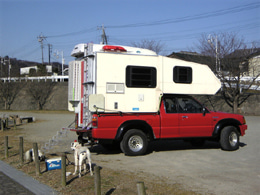pickupcamper「軽快・気軽にオートキャンプ」