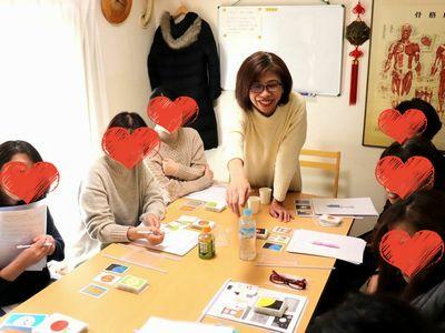 2019年12月8日:kokkoさんin博多・カードリーディング講座の模様
