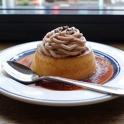 画像 渋谷 コーヒーハウスニシヤの季節限定モンブランプリン の記事より 11つ目