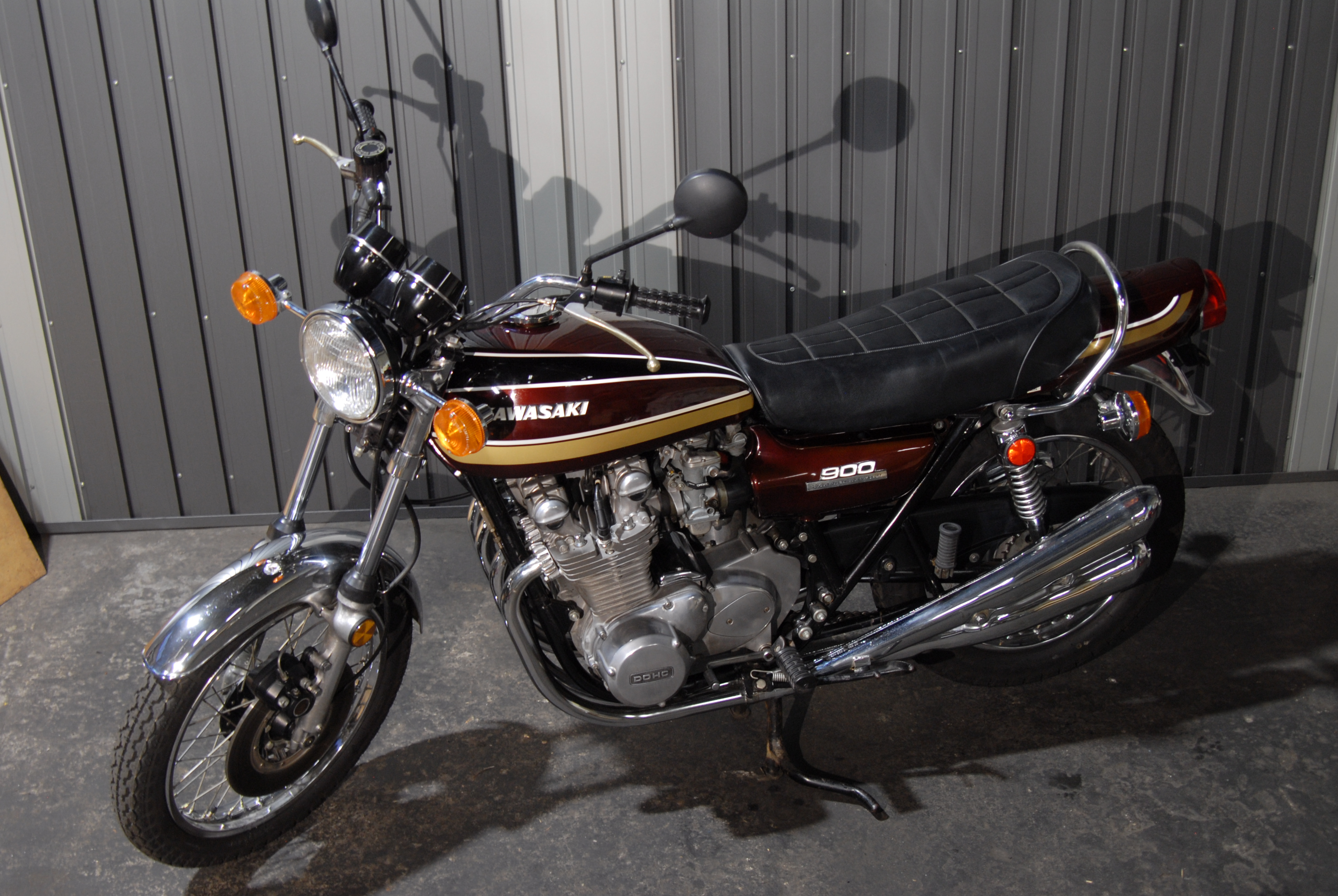 K Z 900 A4 1976 - Hi-Quality Speedo Cable 900 CC New Kawasaki