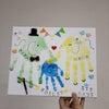 1席空き★12月22日★岡崎 手形足形時計アートの画像