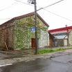 喜多方市町田の石積み・レンガ倉庫