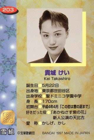 宝塚歌劇100周年記念 平成その25 1997年バンダイ ...