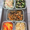 野菜の常備菜5品