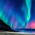 「今日は南極の日」とオーロラ