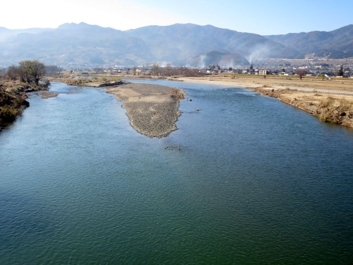 水位 千曲 カメラ 川