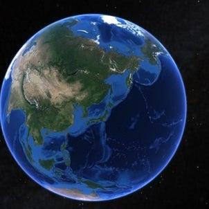 宇宙からヤフーデーターセンターを見ようの画像