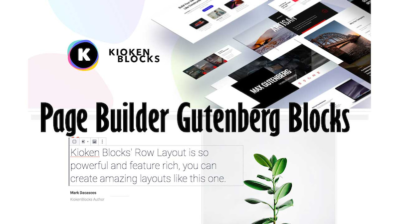 Kioken Blocks(Gutenberg Page Builder)