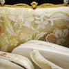 礼装用正絹和装バッグ草履セット2019|結婚披露宴、パーティーにおすすめ。吉祥唐草錦文様。の画像