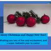 メリークリスマス + 幸せな新年 Merry Christmas + happy New Yeaの画像