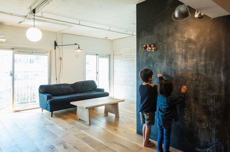 黒板塗料で明るい家庭を
