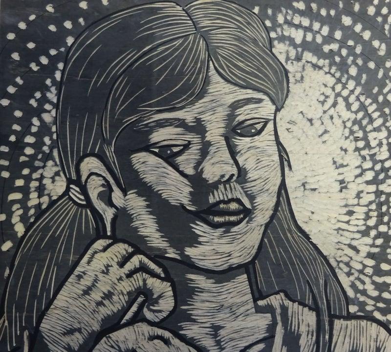 失敗しない木版画 (中学生11 背景を彫る) | touribunkakyousituのブログ