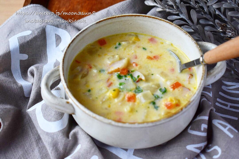 スープ レシピ コーン 人気 栗原はるみさんの「中華コーンスープ」レシピ・作り方