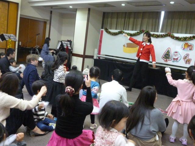 大田区 0歳からのクリスマスリトミックイベント 嶺町特別出張所 リトミっこ