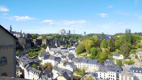 ルクセンブルクの街並みの写真