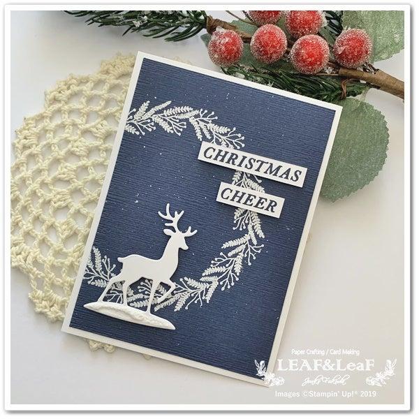 大人 クリスマスカード 手作り