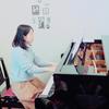 ピアノ教室でクリスマス会の画像