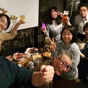 Unplanned Christmas Party occurred in 東十条!の画像