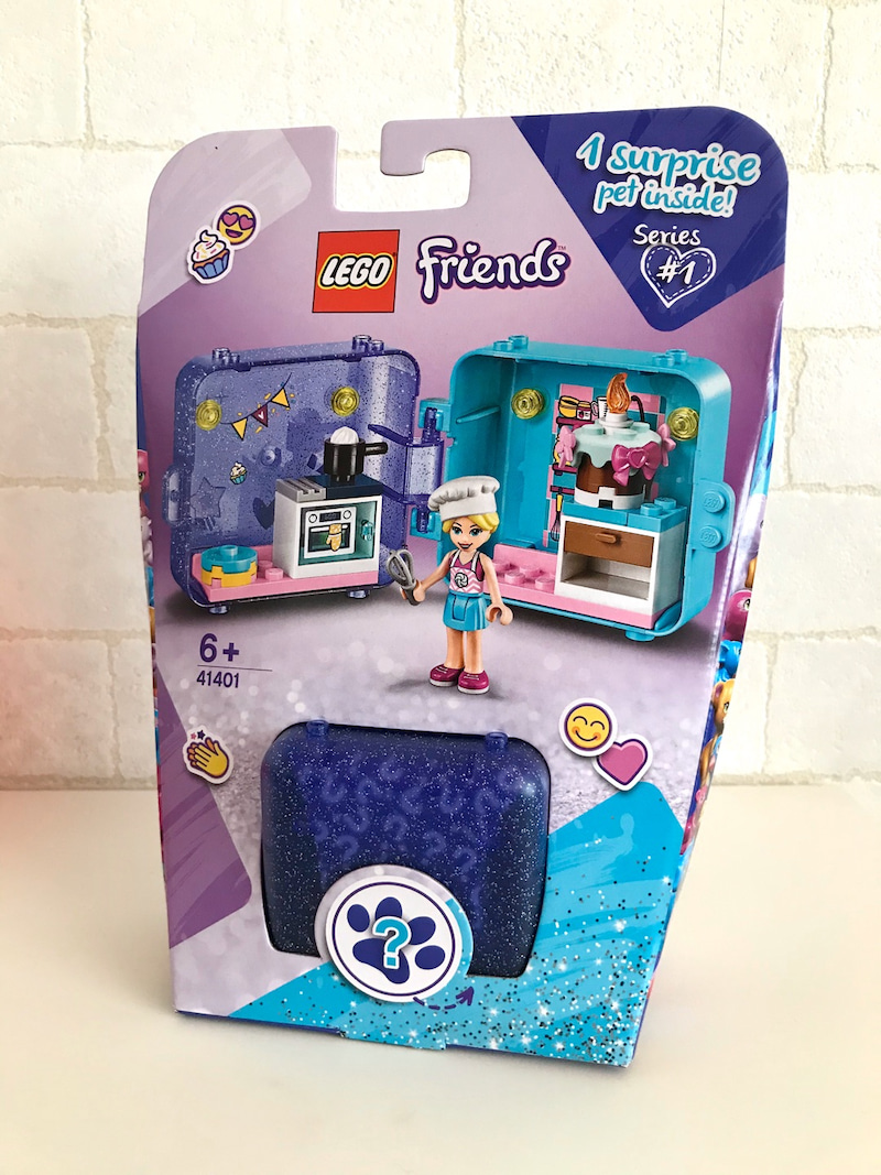 レゴ LEGO フレンズ キュービーズ ステファニーのスイーツキッチン 41401 開封レビュー