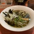 市川大楽園製茶のお茶を使ったラーメンのあるお店、「学んち」(がくんち)に行きました。の記事より
