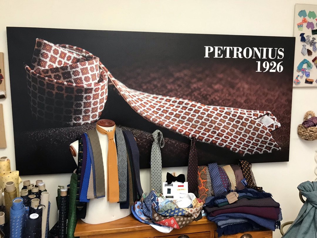 ミラノ老舗ネクタイメーカーの粋な計らい