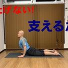 後屈のポーズの時に背中の筋肉を使う感覚が分からない人へ【理屈と練習方法について】の記事より