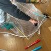 即席凧づくりと赤ちゃん鏡餅の画像