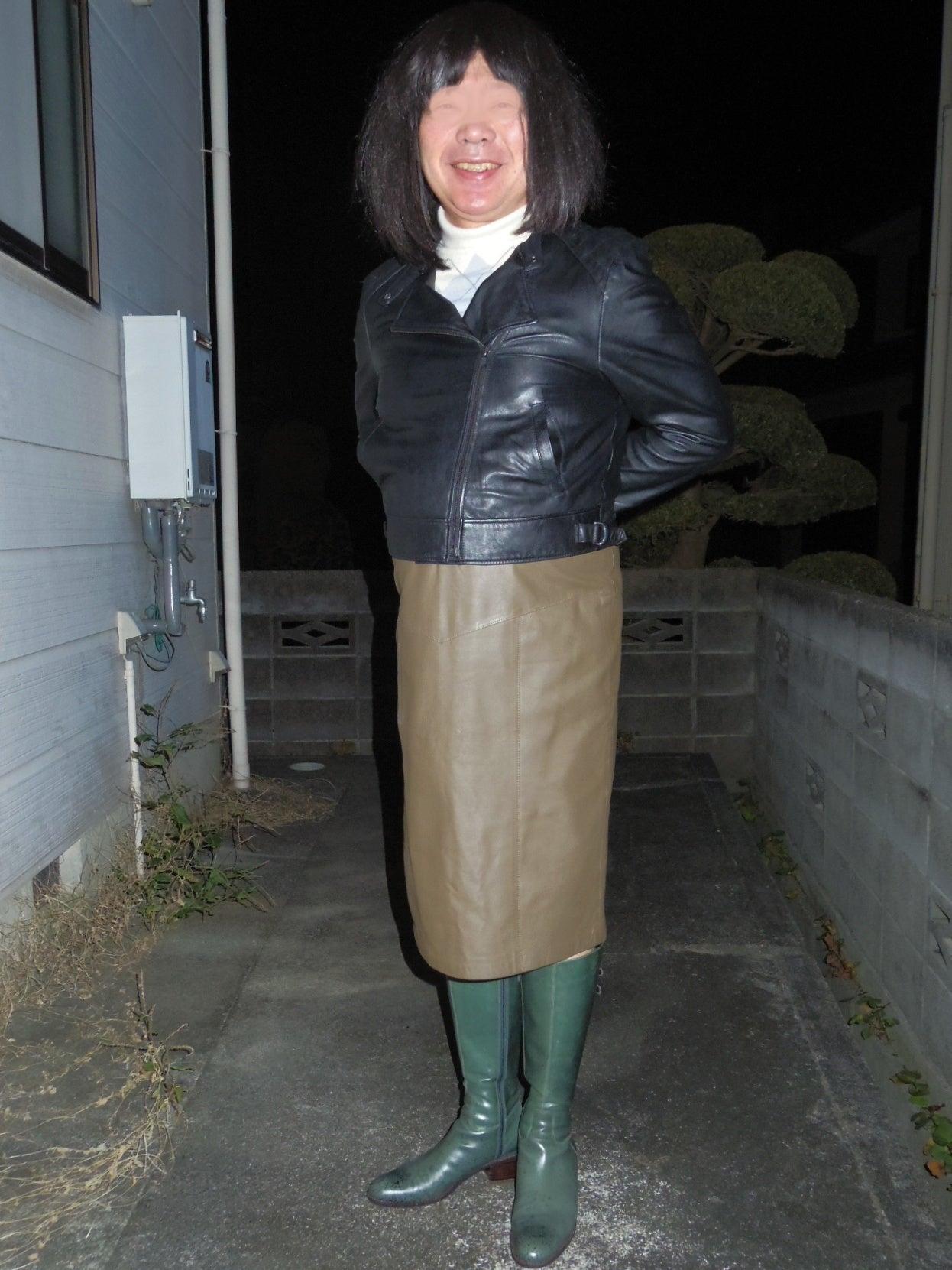 緑色のブーツ買っちゃったぁ 純子のクローゼット 2