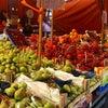 イタリア最大級の市場(メルカート)パレルモのバッラロ市場の画像