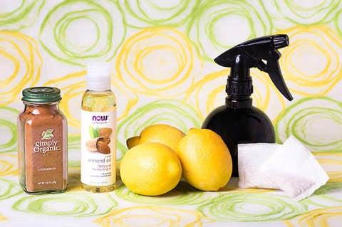 レモンでヘアカラーリング(準備物)