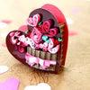 ワンデイレッスンのご案内【クイリングで作るバレンタインボックス】の画像