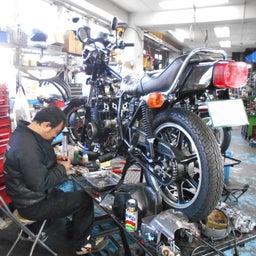 画像 カワサキ Z400J 東京都 松田様、ステージ4納車整備中! Z400J、Z400FX、 の記事より 9つ目