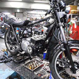 画像 カワサキ Z400J 東京都 松田様、ステージ4納車整備中! Z400J、Z400FX、 の記事より 7つ目