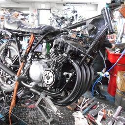 画像 カワサキ Z400J 東京都 松田様、ステージ4納車整備中! Z400J、Z400FX、 の記事より 3つ目