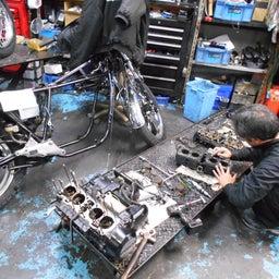 画像 Hon CB750F SUPER SPORT 宮城県 齋藤様、St4納車整備中! CB750SS の記事より 5つ目