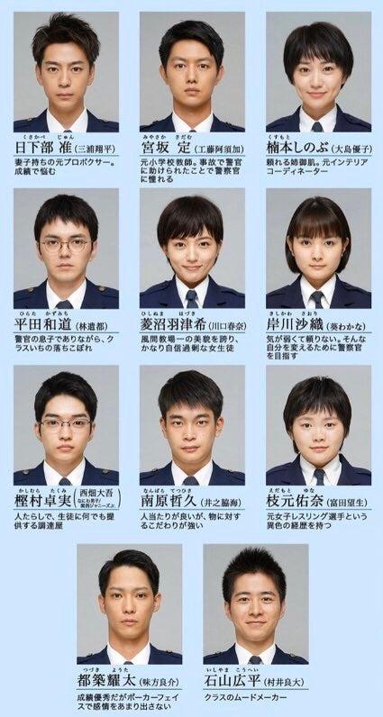 警察 学校 髪型