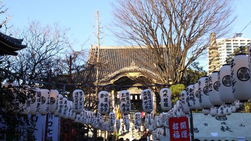 宝珠山 錫杖寺 正月の境内