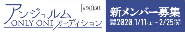 「アンジュルムONLY ONEオーディション~私を創るのは私~」開催!