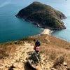 【香港】玉桂山 Yuk Kwai Shan 香港島のトンボロを歩くの画像