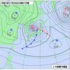 低気圧が発達しながら日本海を北東進の画像
