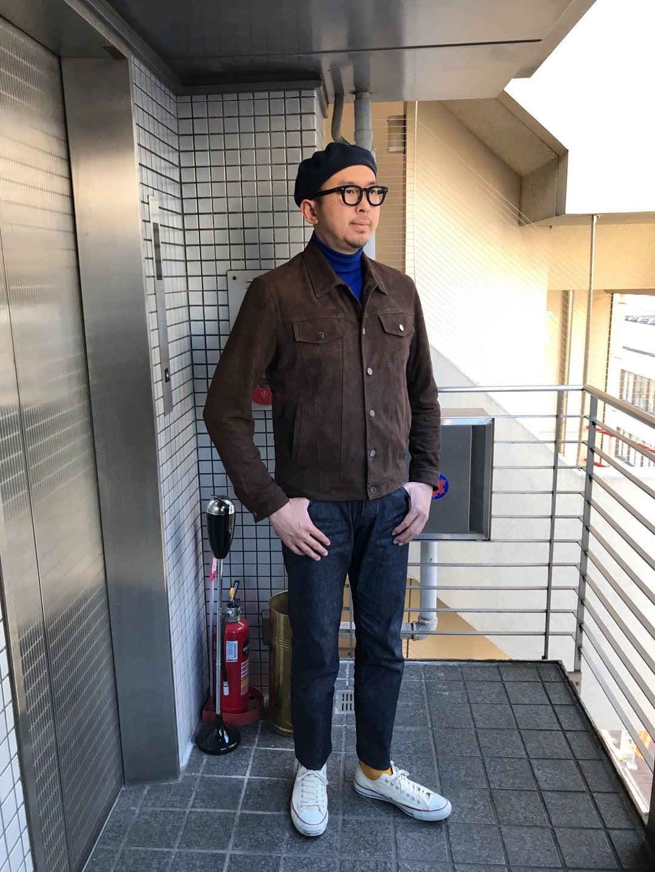 王道でありモダンな大人のGジャン4th型パンチングレザー