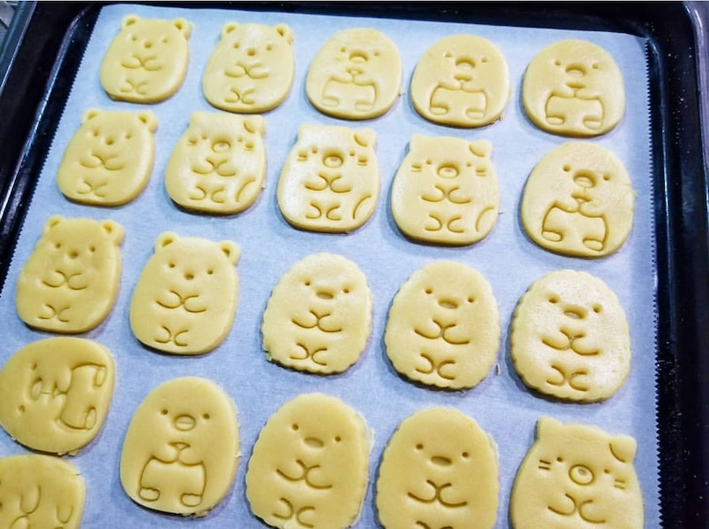 型 抜き クッキー